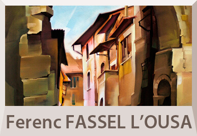 Ferenc Fassel paintings