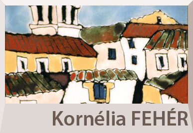Kornelia Feher enamels on offer