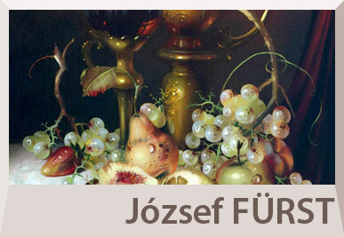 Jozsef Furst still life paintings