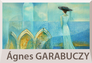 Agnes Garabuczy surrealist paintings