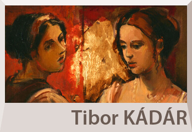 Tibor Kadar modern figurative paintings
