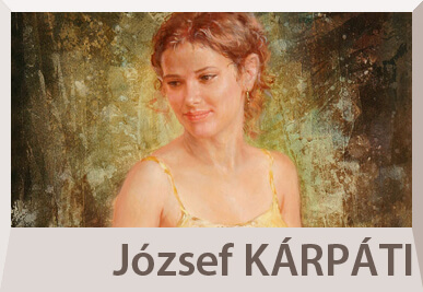 Jozsef Karpati nude paintings and portraits