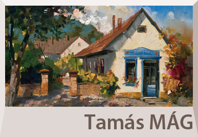 Tamas Mag landscape paintings