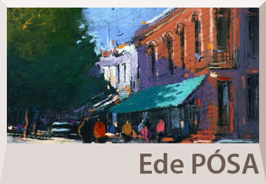 Ede Posa pastel paintings on offer