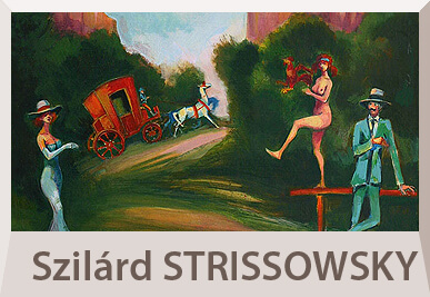 Szilard Strissowszky paintings