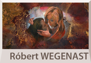 Robert Wegenast abstract paintings