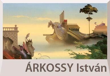 Árkossy István szürrealista festmények