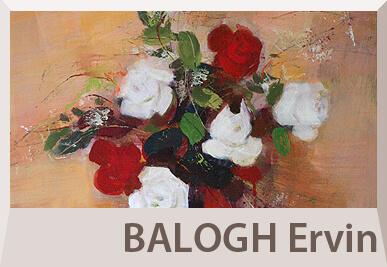 Balogh Ervin absztrakt festmények