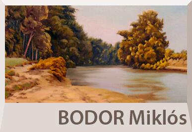 Bodor Miklós tájkép festmények