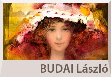 Budai László festmények, portré festészet