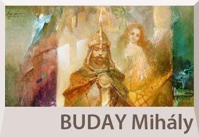 Buday Mihály szürrealista festmények, szimbolista alkotások