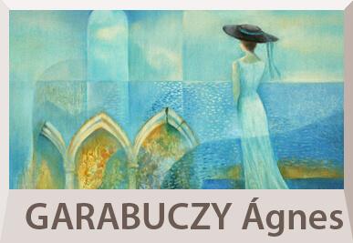 Garabuczy Ágnes szürrealista festmények