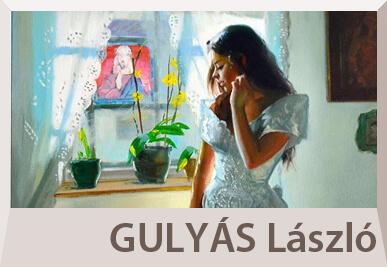Gulyás László figurális festmények, akt és portré festészet