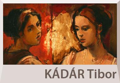 Kádár Tibor portré festmények, figurális alkotások