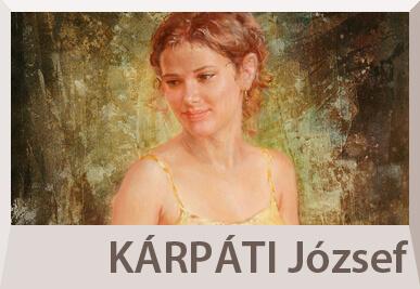 Kárpáti József akt festmények, portré festészet