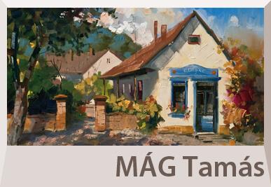 Mág Tamás tájkép festmények
