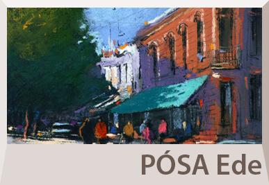 Pósa Ede pasztell festményei