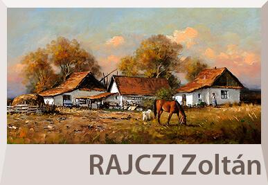 Rajczi Zoltán tájkép festmények