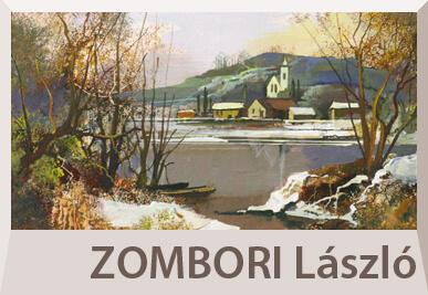 Zombori László festmények