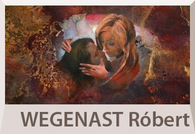 Wegenast Róbert absztrakt festmények